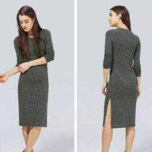 Aritzia Wilfred Free Parleur Bodycon Midi Dress